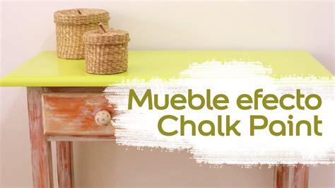 chalk paint ville de v 237 deo tutorial envejecer un mueble chalk paint liso y