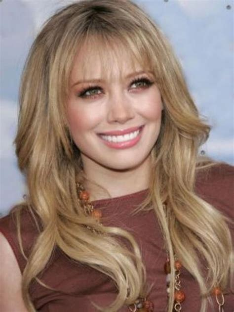 pictures of wispy medium length fringes hairstyles with long layers and bangs 2013 hair and