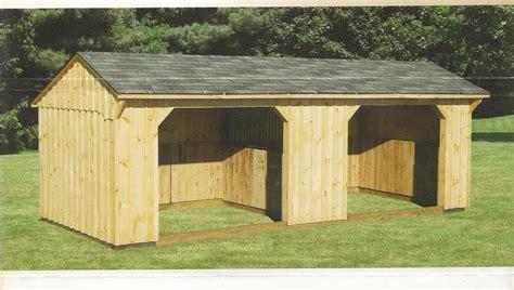 Amish Run In Sheds amish barns barn run in shed amish barns