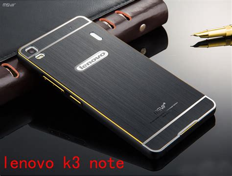 Lenovo A7010 K4 Note X3 Lite Metal Bumper Mirror Casing Kuat buy nillkin frosted shield lenovo k3 note a7000