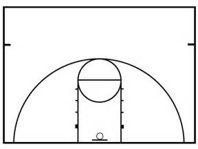 basketball court design template basketball half court diagrams printable clipart best