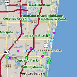 map of florida pompano pompano fl pictures posters news and on