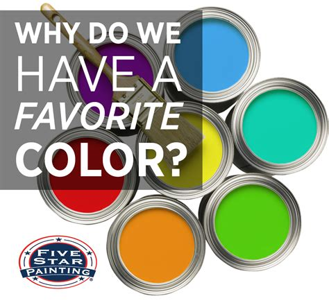why do we a favorite color