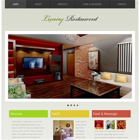 website template luxury hotels and carousels on pinterest 1000 images about hotels and restaurants responsive