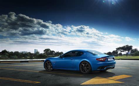 blue maserati granturismo 2014 maserati granturismo sport blue wallpaper hd car