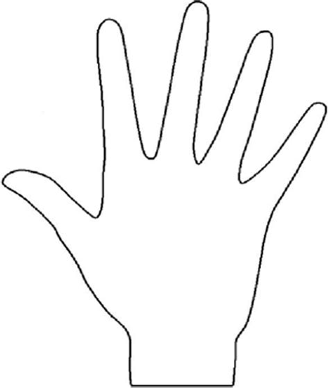 printable hand templates blank henna template henna pinterest hennas