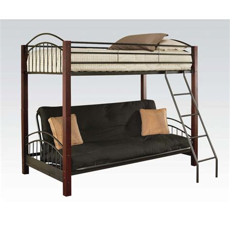 bunk bed futon wood janell futon bed