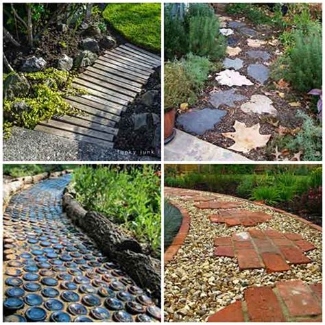 garden pathway ideas 27 unique and creative diy garden path ideas iseeidoimake