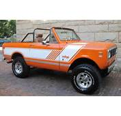 1974 International Scout II  Information And Photos MOMENTcar
