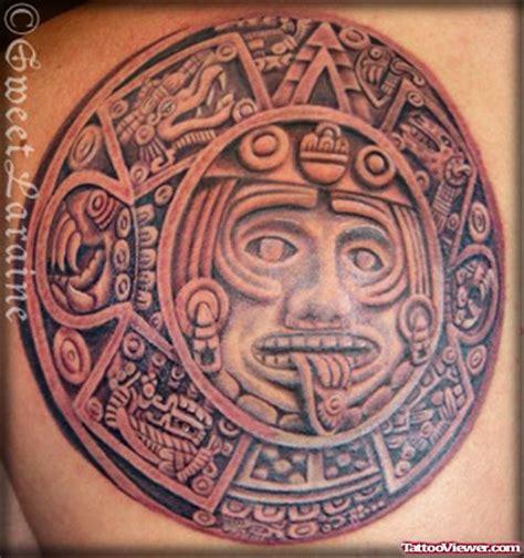 aztec sun tattoo designs dreadful aztec sun design viewer