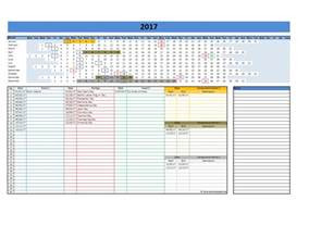 excel calendar templates free 2017 and 2018 calendars excel templates