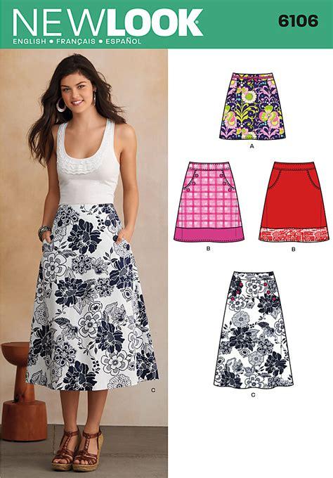 New For New Flare Skirt Rok A Line Celana Fashion Korea 6106