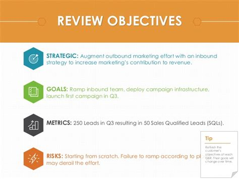 Business Review Template quarterly business review template