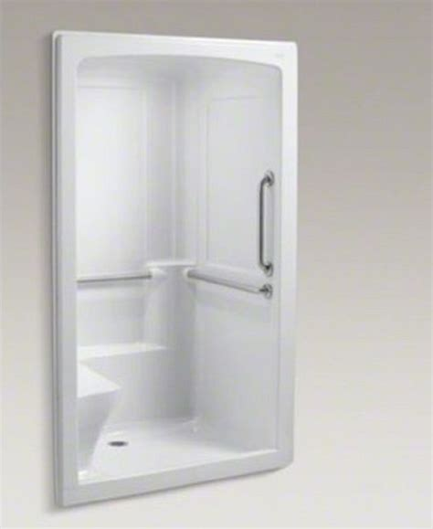 one shower with door one shower units for