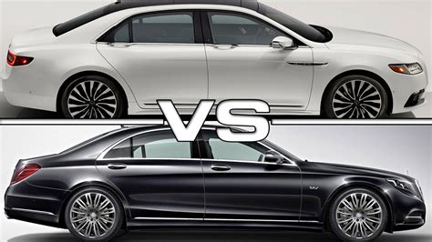 Mercedes Of Lincoln by Lincoln Continental Vs Mercedes S Class