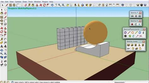 tutorial google sketchup physics دورة 3d باستخدام google sketchup الدرس 39 الاضافة