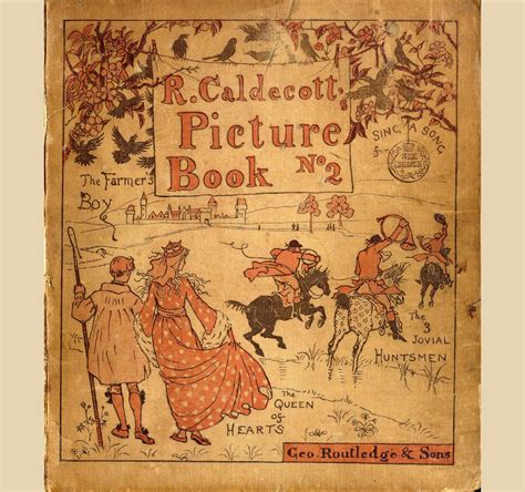 randolph caldecott picture books randolph caldecott second picture book 1885
