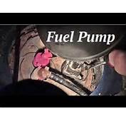 How To Remove Fuel Pump On Mercury Mystique  YouTube