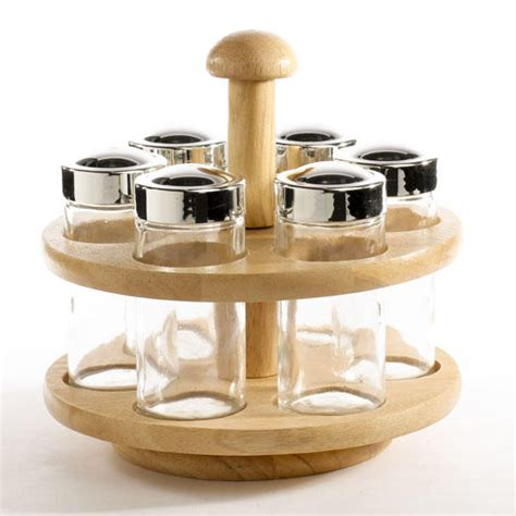 Table Spice Rack Revolving Wood Spice Rack Table And Shelf Sitters Home