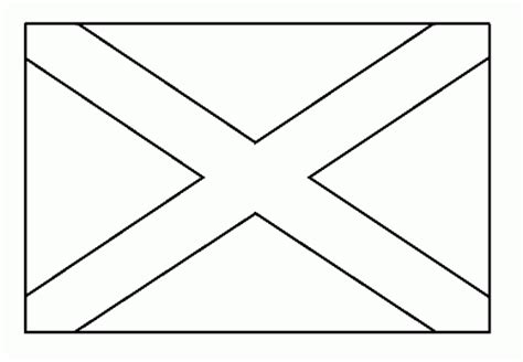 free scotland flag coloring pages