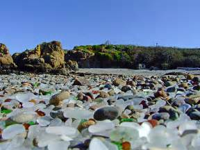 glass beaches glass beach california