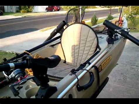 native manta ray angler kayak  night fishing ready youtube