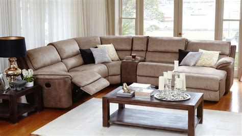 Bourbon Modular Recliner Lounge Suite With Chaise Harveys Living Room Furniture