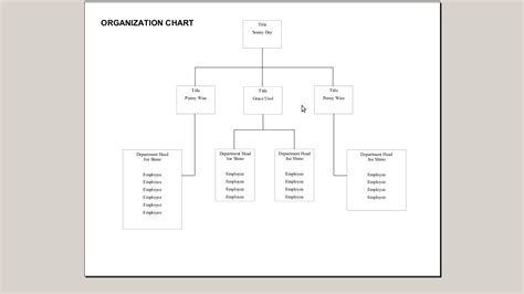 how do you create an organization chart with openoffice org