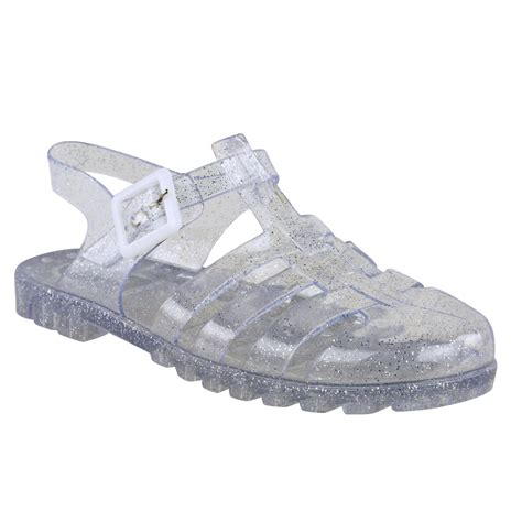 jelly sandals womens flat retro summer jelly sandals