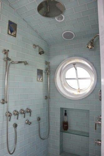 porthole windows bathroom round porthole window in deluxe shower house stuff
