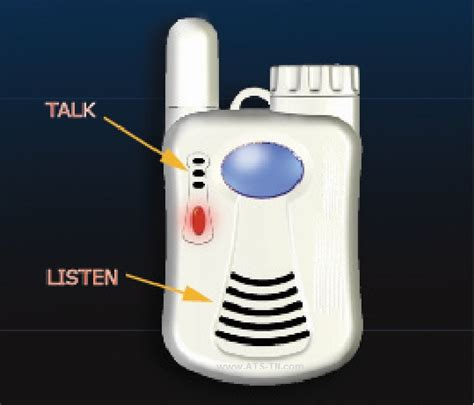 2 way voice communication elderly alert system