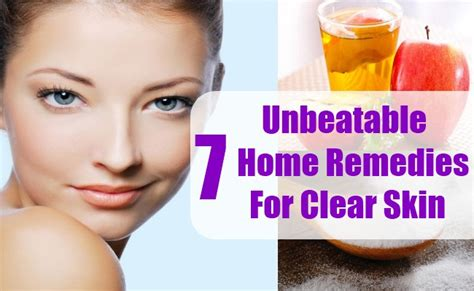 7 unbeatable home remedies for clear skin