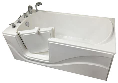 oasis bathtub oasis walk in bathtub 29 75 quot x60 quot standard soaker left hand
