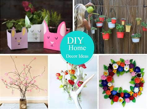 easy  cheap diy home decor ideas