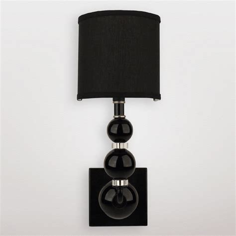 Black Wall Sconce District17 Mars Black Sphere Wall Sconce Wall