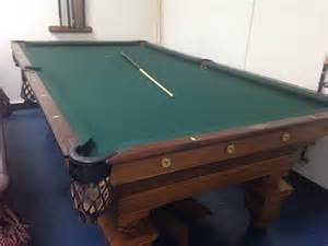 brunswick antique southern pool table billiards
