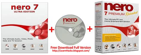 download free nero nero 7 5 download nero 7 startsmart free download full version with key my