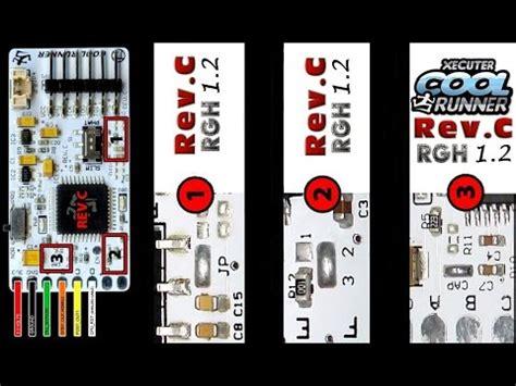 Coolrunner Rev C Glitcher For Xbox 360 Ic Rgh xbox 360 rgh1 2 coolrunner rev c sur jasper 512mo