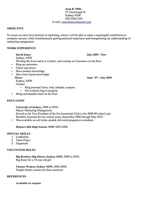 Resume Template Year 10 by 1902 Best Free Resume Sle Images On Free