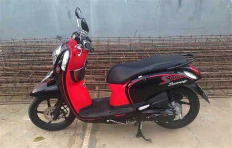 Karpet Motor Honda Scoopy Hitam Merah Karpet Motor Karpet Motor Matic honda scoopy pgm fi 2013 merah hitam