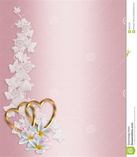 Einladung Hochzeit Rosa by Wedding Invitation Pink Plumeria Stock Illustration