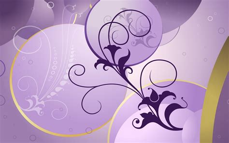 wallpaper design template simple flowers design purple background wallpapers