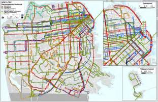 San Francisco Bus Map by Trolley Car San Francisco Map Images