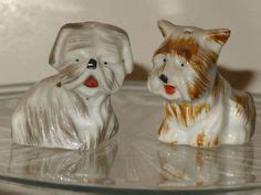 yorkie salt and pepper shakers puppy salt pepper shakers on 17 pins