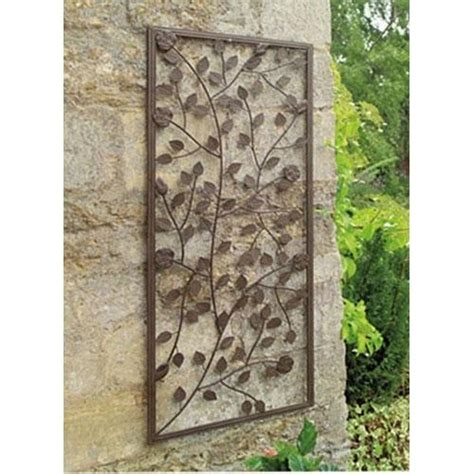 Decorative Wall Trellis Metal Garden Images Home Projects