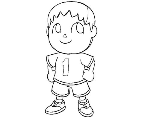 Animal Crossing Coloring Pages free coloring pages of crossing