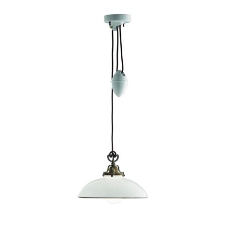 counterweight pendant light murano pendant light with curved dish and plain