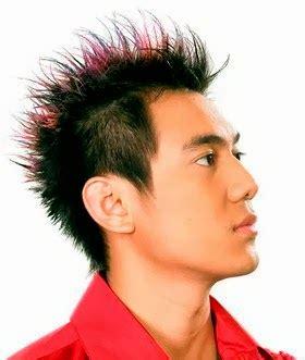 tren gambut pendet masa kini gaya rambut pria pendek masa kini