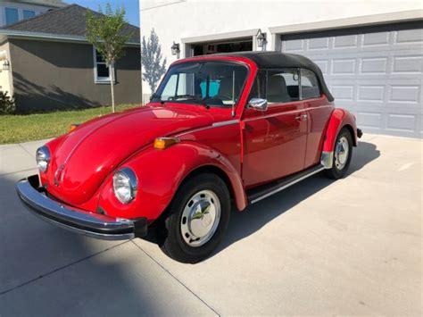 vw super beetle convertible bug automaticsemi transmition orlando fl classic
