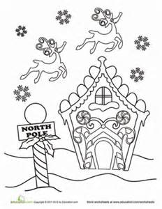 28 North Pole Coloring Page  North Pole Coloring Page Free